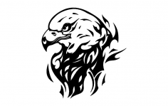 Eagle Flame dxf File