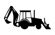 Backhoe dxf File