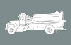 Fire Truck dxf File