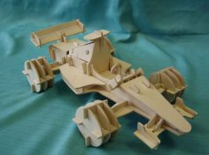Carro Formula 1 dxf File