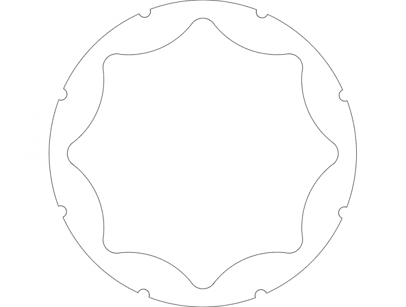 H1 Rim Stiffner Half Curved Dxf File Free Download 3axis Co