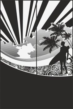 Sandblast Pattern 2182 CDR File