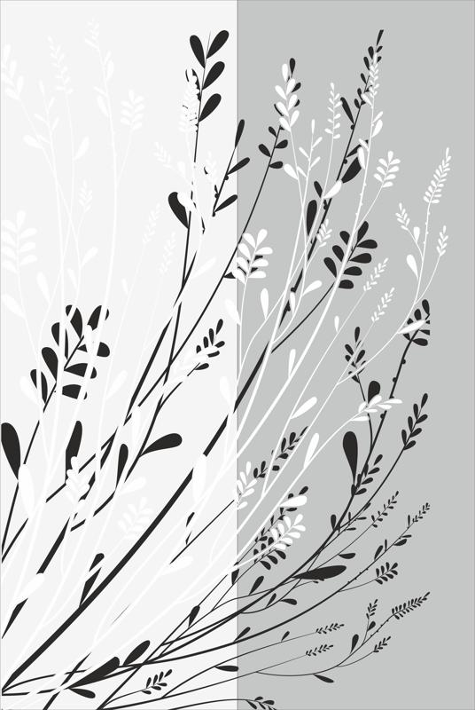Floral Lace pattern sandblast pattern Free Vector