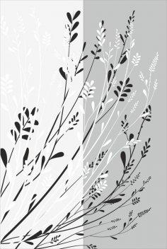 Floral Lace pattern sandblast pattern Free Vector