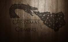 Cdr File Christmas Dragon Free Vector