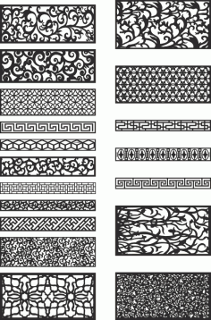 Free Patterns for Laser Cutting Free Vector
