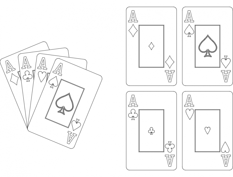Aces dxf File