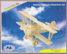 Nieuport 17 Aircraft Laser Cut PDF File
