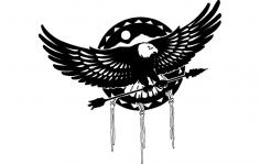 Aguia (Eagle) dxf File