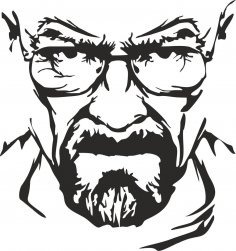 Breaking Bad Heisenberg Vector Free Vector