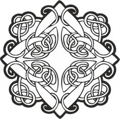 Celtic ornament vector Free Vector