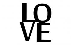 Love dxf File