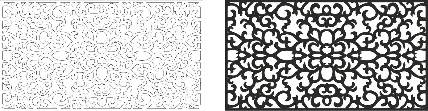 Laser Cut Vector Art CDR File