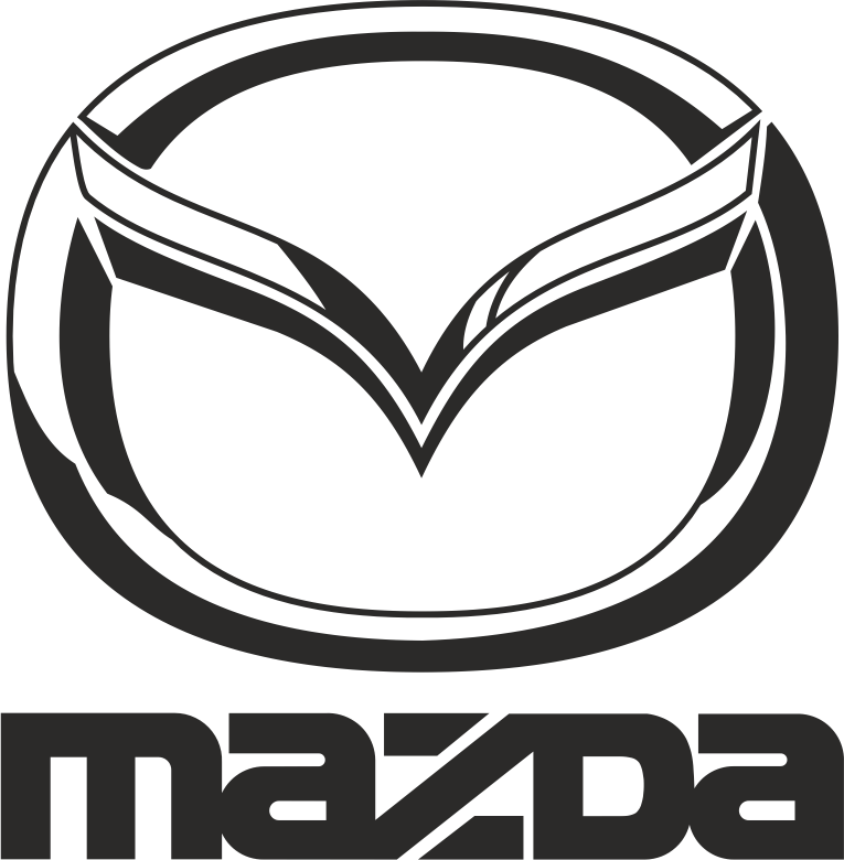 Mazda Black Vector Logo CDR File