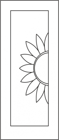 Door Panel Design s-004 vector Free Vector