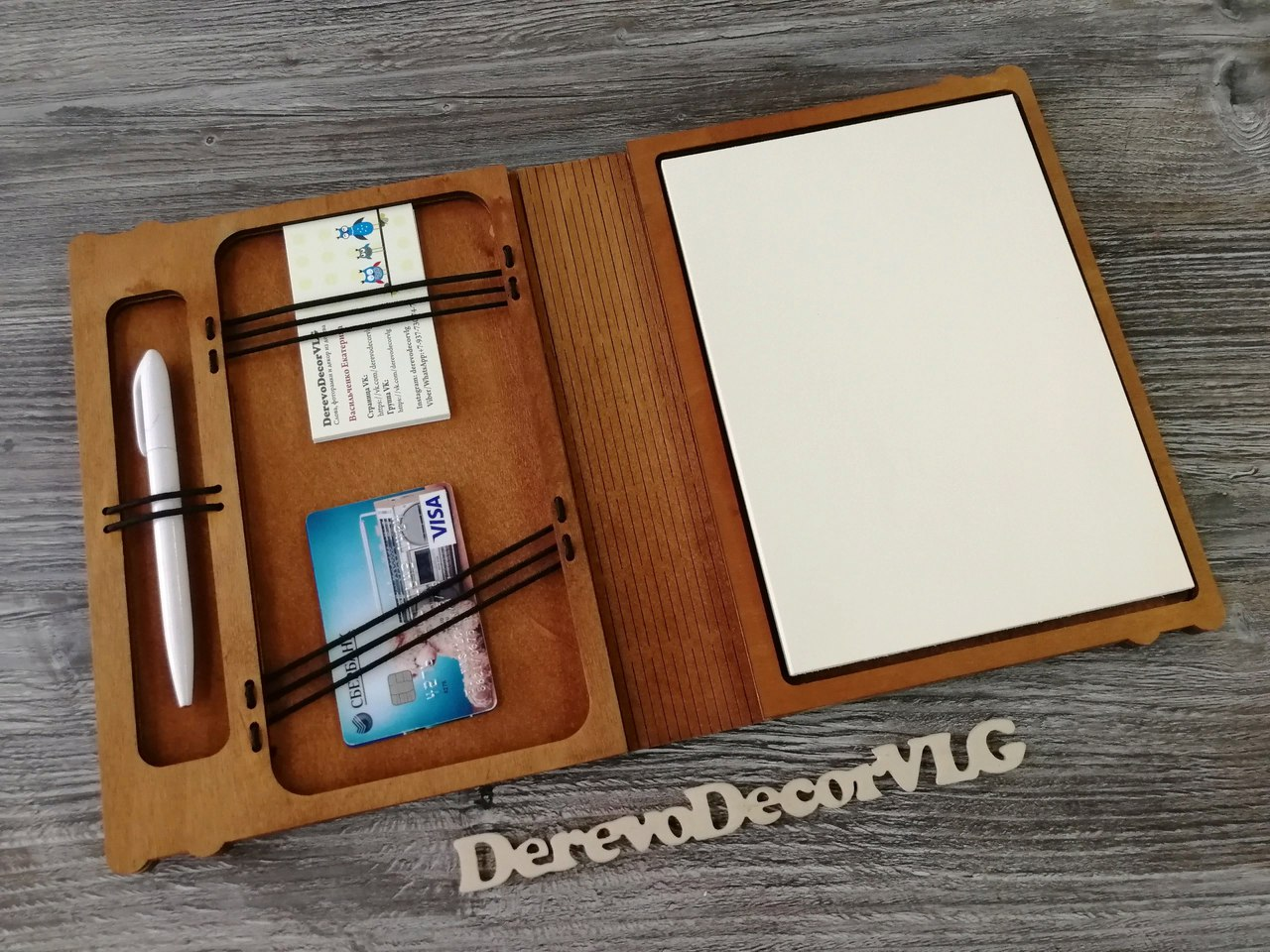 Laser Cut Notebook Free Vector