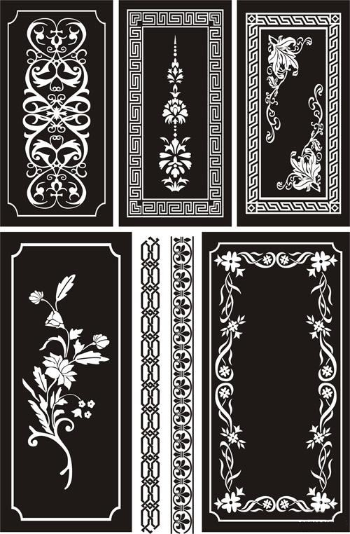 Ornamental Designs Free Vector