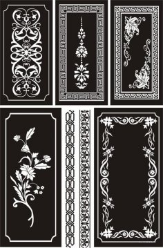 Ornamental Designs Free Vector
