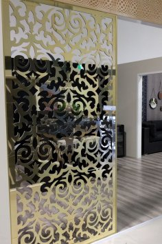 Laser Cut Screen Pattern Template PDF File