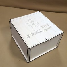 Laser Cut Candy Box Template Free Vector