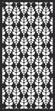 CNC Panel Screen Pattern Free Vector