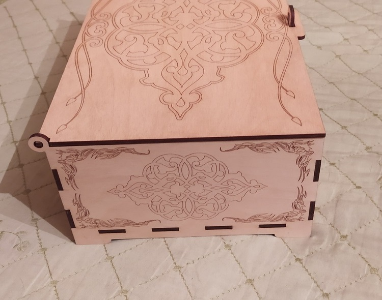 Laser Cut Cell Phone Storage Box For Classroom Free Vector