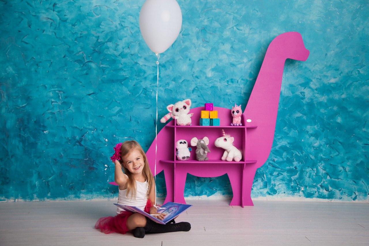Laser Cut Kids Dinosaur Shelf Template Free Vector