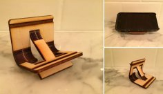 Laser Cut Portable Phone Stand DXF File