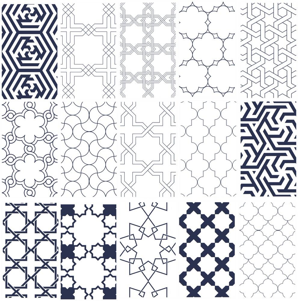 Isl Patterns Free Vector