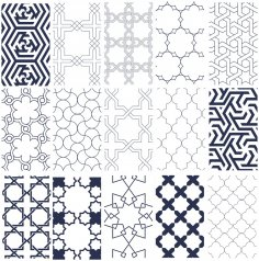 Isl Patterns Free Vector