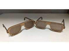 Laser Cut Glasses Template PDF File