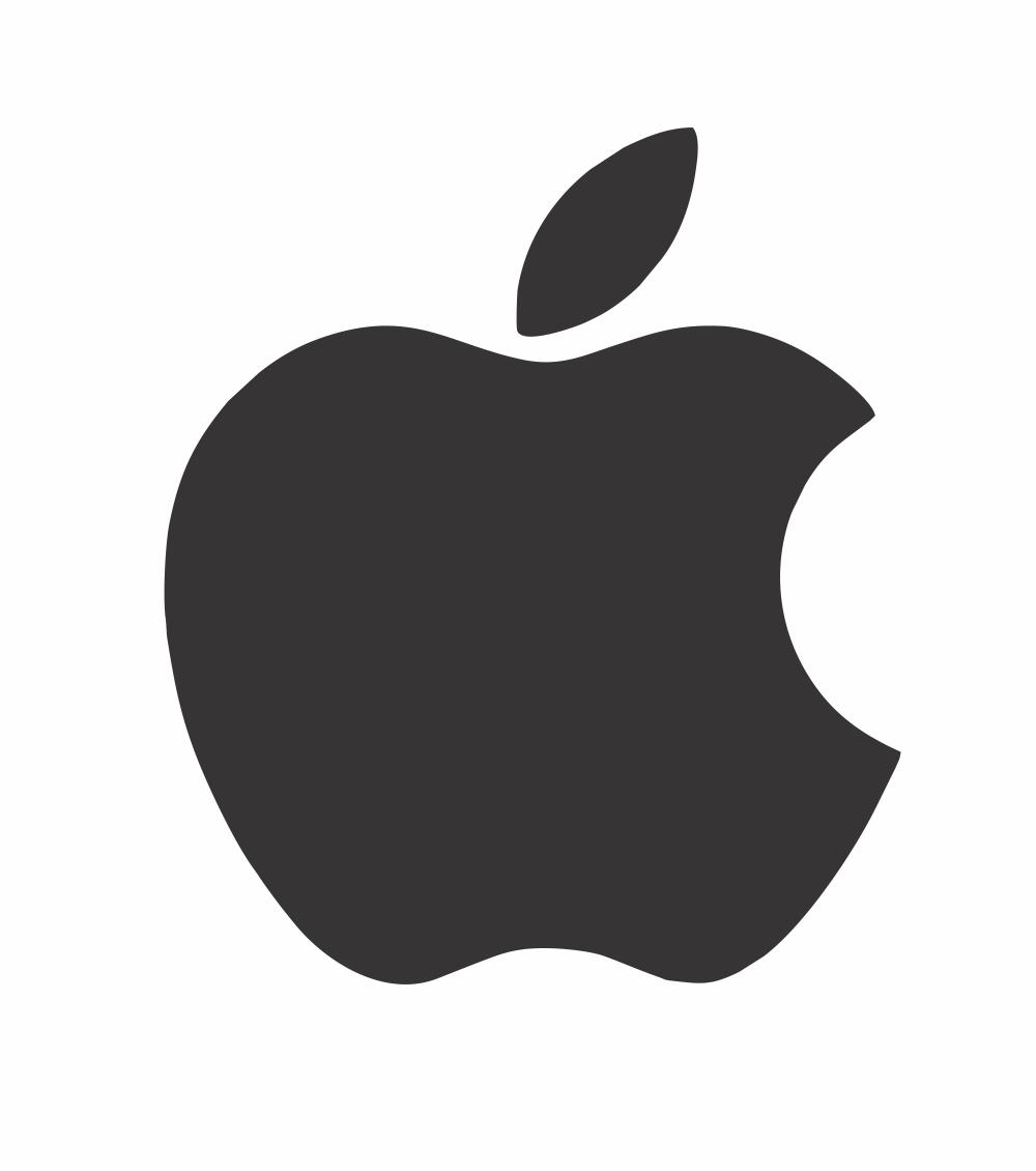 Apple Logo DXF File