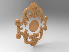 Furniture 3D Relief Model For CNC Wood Engraving Stl File