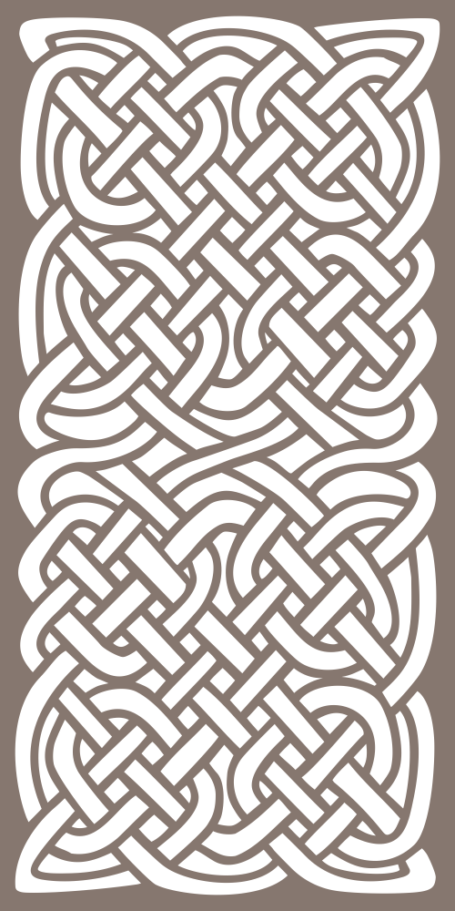 Celtic Knots Pattern Free Vector