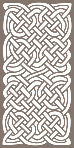 Celtic Knots Pattern Free Vector