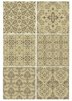 Vintage Background Vectors Set Free Vector