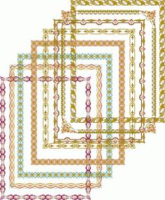 Fancy Frames Borders Frame Border Elegant Vectors Free Vector