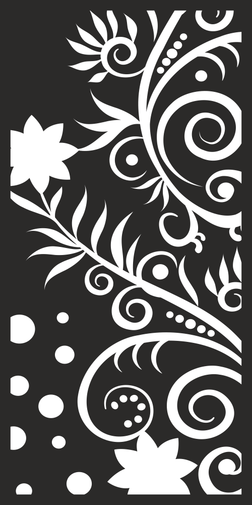 Vector Seamless Floral Pattern Free Vector