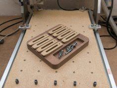 Cnc Router Clamp Tray DXF File