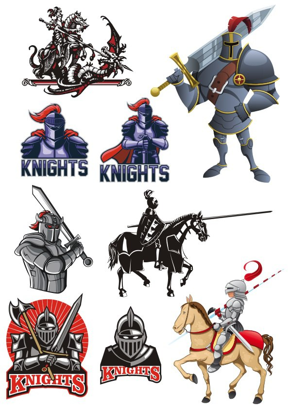 Knight Free Vector