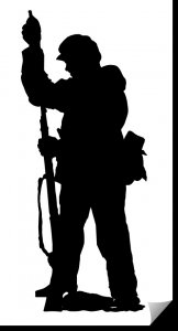 Soldier Vertical Rifle dxf file