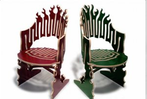 Fancy Chair 04.dxf