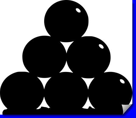 Resaca Cannon Balls dxf file