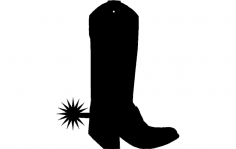Boot Charm dxf File