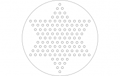Chinese checkers dxf File