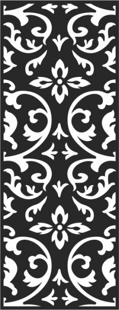 Black and white seamless vintage pattern