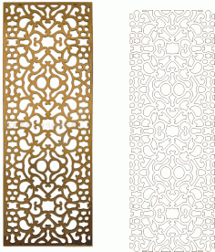 Ornamental Vector Art Pattern Free Vector