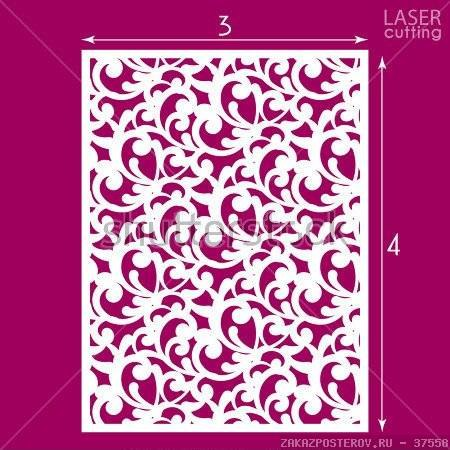 Die Cut Ornamental Panel Seamless Pattern Vector