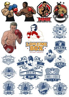Boxer Vector Illustration Vector HD Free Vector