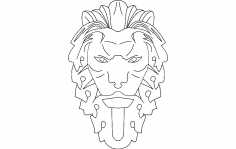 Lion dxf File